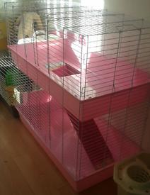 indoor rabbit cage excellent condition