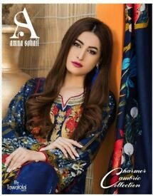 AMNA SOHAIL CHARMER CAMBRIC COLLECTION WHOLESALE ORIGINAL PAKISTANI DRESSES