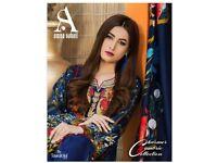 AMNA SOHAIL CHARMER CAMBRIC COLLECTION WHOLESALE ORIGINAL PAKISTANI DRESSES
