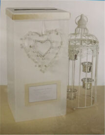Decorate your own wedding post box