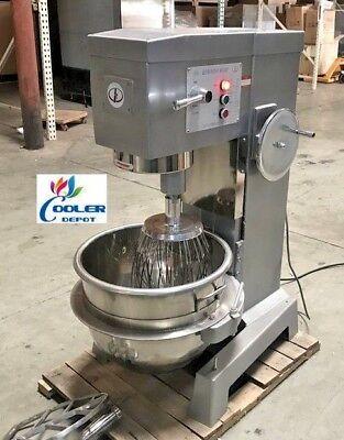 New 50 Quart Mixer Machine 3 Speed Bakery Kitchen Equipment Mx50 Commercial Use