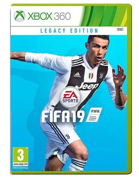 VIDEOGIOCO FIFA 19 LEGACY EDITION XBOX 360 ITALIANO GIOCO FIFA 2019 NUOVO PAL