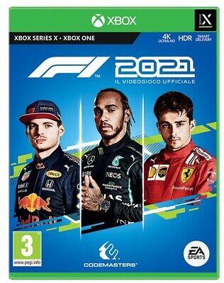F1 2021 XBOX ONE - SERIES X STANDARD EDITION ITALIANO GIOCO FORMULA UNO 21 NUOVO