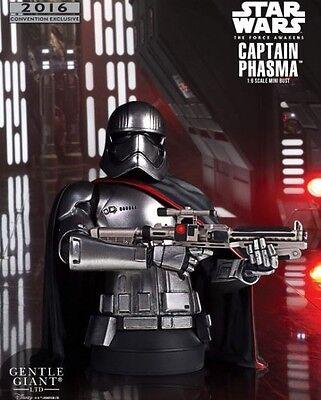 SDCC 2016 Exclusive Celebration Star Wars Captain Phasma Gentle Giant Mini Bust