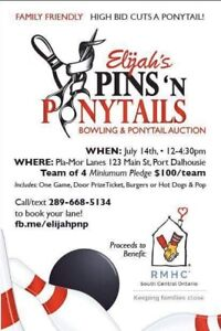 Ronald McDonald House and Wigs for Kids Fundraiser