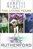 MIKE RUTHERFORD FIRST GENESIS MEMOIR THE LIVING YEARS NEW