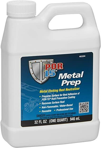 Por 15 40204 Metal Prep - Qt.