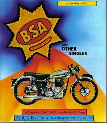 BSA Gold Star + other Singles B, M & C Ranges Bantam Unit Singles + by R Bacon