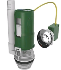 THOMAS DUDLEY LTD VICTORIA CABLE-OPERATED DUAL-FLUSH VALVE