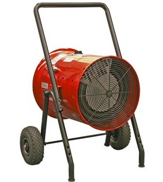 BERKO Electric Salamander Heater BDH 1521A 15 KW @ 240V, 1Ø Portable Electric