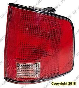 Tail Lamp Driver Side 2Nd Design 02-04 High Quality Chevrolet S-10 Pickup 2002-2004