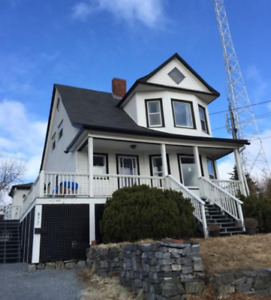 Rent the highest house in Saint John.  Available Dec. 1st