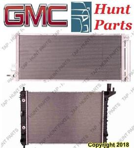 All GMC AC compressor Condenser Radiator Support Fan Cooling Compresseur AC Condenseur Radiateur Support Ventilateur