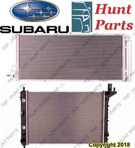 All Subaru AC compressor Condenser Radiator Support Fan Cooling Compresseur AC Condenseur Radiateur Support Ventilateur
