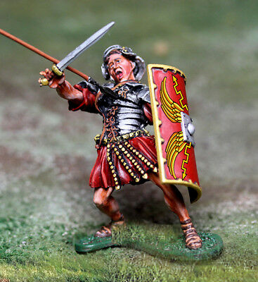 THE COLLECTORS SHOWCASE ROME 43AD CS00980 ROMAN HIT BY SPEAR MIB