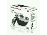 Morphy Richards 46615 Digital Jug Scales with Stainless Steel Bowl - White - NEW