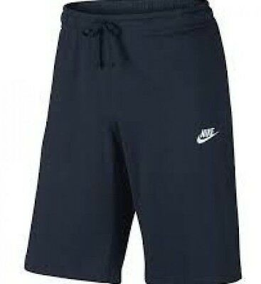 Nike Fashion Shorts (Nike Futura  Sweat Club Jersey Gym Summer Fashion  Sportswear Shorts - Navy)