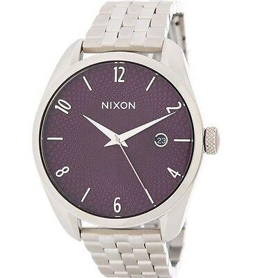 NIXON Unisex Bullet A4182157 38mm Retail $200 100% Brand New Authentic