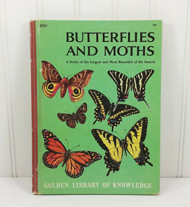 Golden library of knowledge - Butterflies and Moths