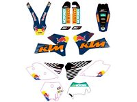 KIT KTM SX EXC 2005 2006 2007 Sticker best quality.