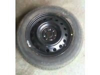 2002-2006 TOYOTA COROLLA 15 INCH STEEL WHEEL WITH TYRE 195/60R15