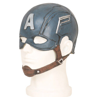 Captain America Steve Rogers Mask Latex Captain America Helmet Captain America Maske