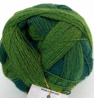 Evergreen Grün (Schoppel Wolle - Lace Ball 100 2168 Evergreen grün Merinowolle stricken)