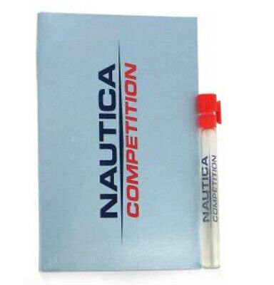 Nautica Sport Competition Cologne Blue 12 Samples 0.05 oz 1.5 ml