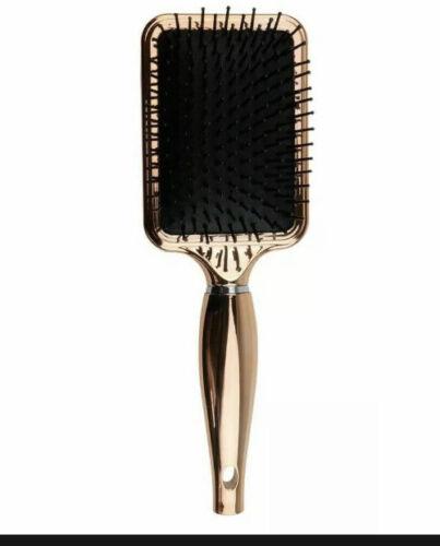 Aria Beauty Luxe Chrome Detangling Paddle Brush Fabfitfun Spring 2020 NEW 35 - $14.99