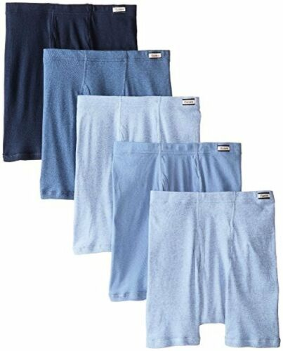 Hanes Mens Cotton ComfortSoft Waistband Tagless Boxer Briefs