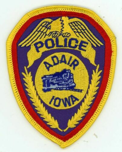 IOWA IA ADAIR POLICE NEW SHOULDER PATCH SHERIFF