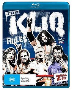 WWE: The Kliq Reunion Show & Doco Blu-ray Discs NEW