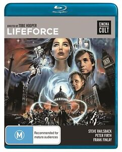 Lifeforce (Blu-ray, 2013) New and Sealed