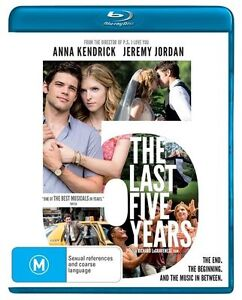 The Last Five Years : NEW Blu-ray