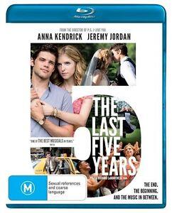 The Last Five Years : NEW Blu-ray