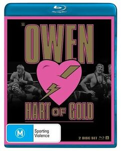 WWE - Owen - Hart Of Gold (Blu-ray, 2015, 2-Disc Set) Brand New Sealed