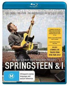 B13 BRAND NEW SEALED Springsteen & I (Blu-ray, 2013)