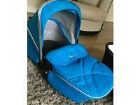 Blue silvercross wayferer seat only