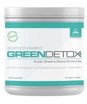 Green Detox | Superfood Drink Mix | Sugar Free |Vegan-Friendly, No Cereal Grass
