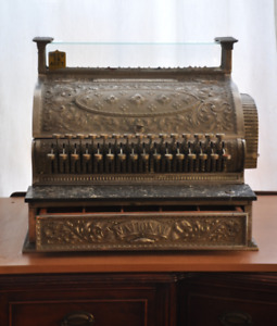 Caisse enregistreuse antique National cash register