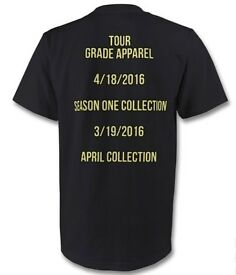 TOUR TEE SHIRT - SUPREME - YEEZY - FEAR OF GOD