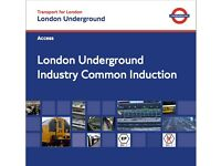 London Underground LU ICI Sentinel Card - Industry Common Induction Assessment From Only £55.00 PTS