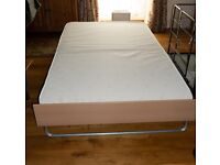 Jay-be 4ft folding guest bed with fitted cover