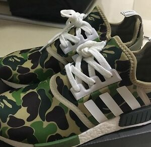 AUTHENTIC BAPE NMDS - SIZE 10