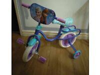 "Disney Frozen 10"" Bike"