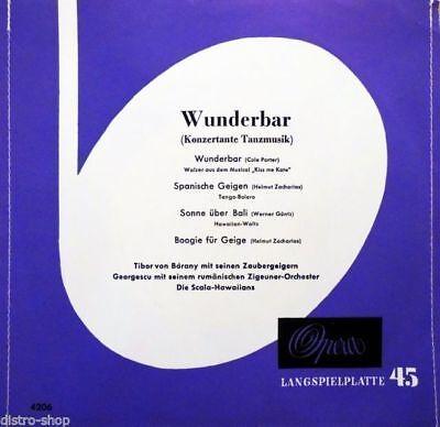 "7"" OPERA 4206 Wunderbar COLE PORTER Kiss Me Kate TIBOR VON BÁRANY GEORGESCU 1957"
