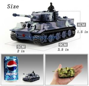 NEW RC Mini 1/72 German Tiger Tanks with Sound Great For Kids
