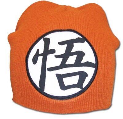 Dragon Ball DBZ Goku Logo Beanie Cap Hat Dragonball Cosplay Licensed New Nwt