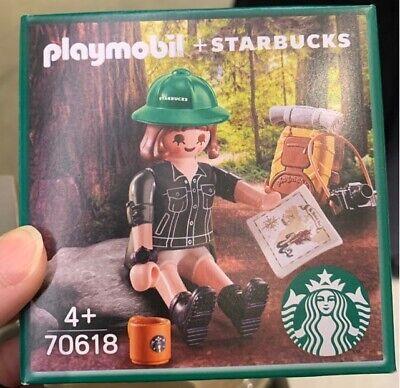 STARBUCKS KOREA PLAYMOBIL Figure Hiker JENNY Limited Edition