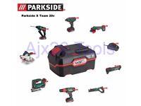 Parkside Larger 20V 4AH battery new X team brand new